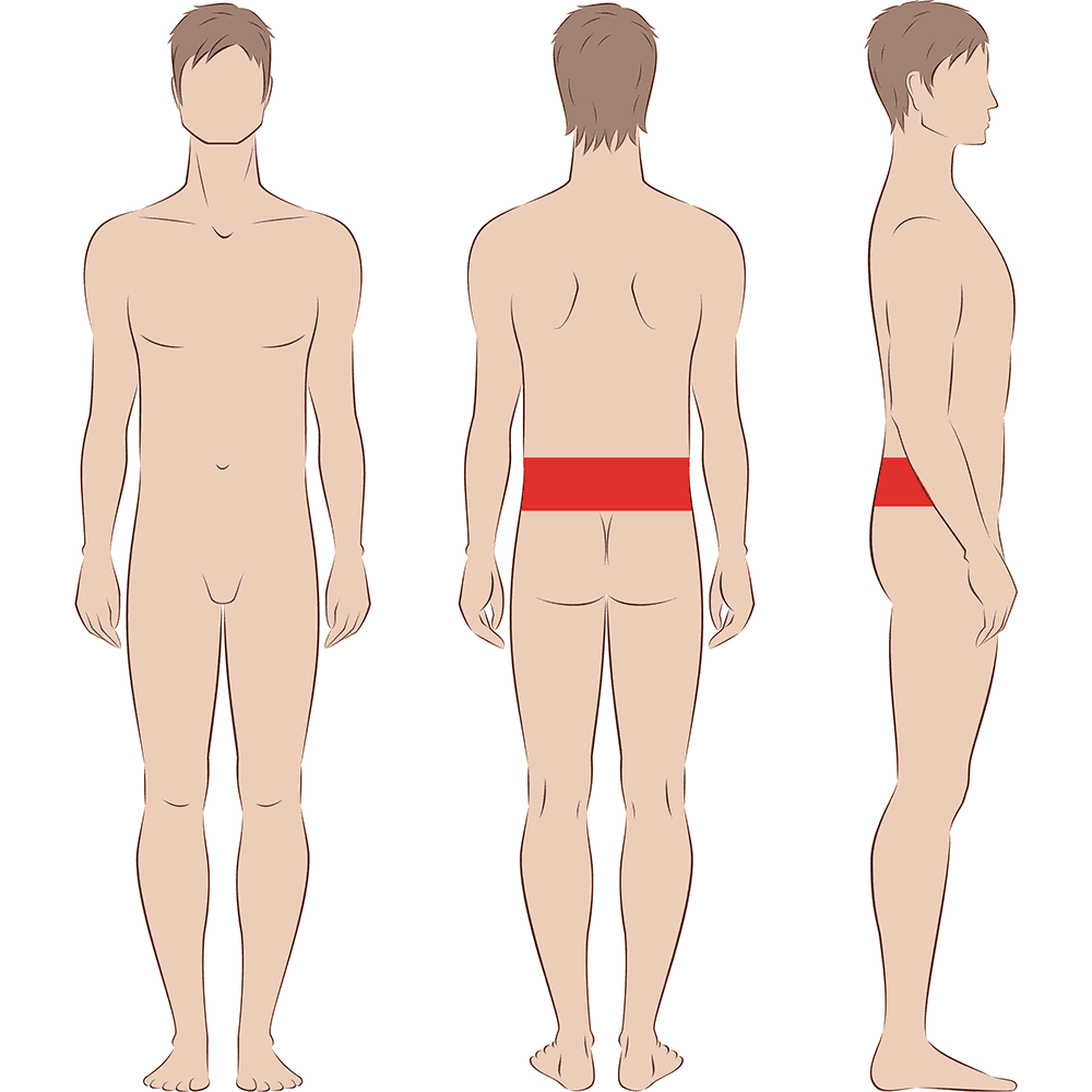 Male Lower Back Laser Hair Removal Indy Laser