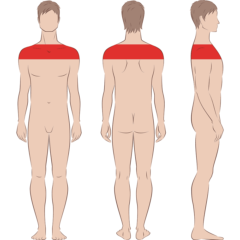 Male Shoulders Laser Hair Removal