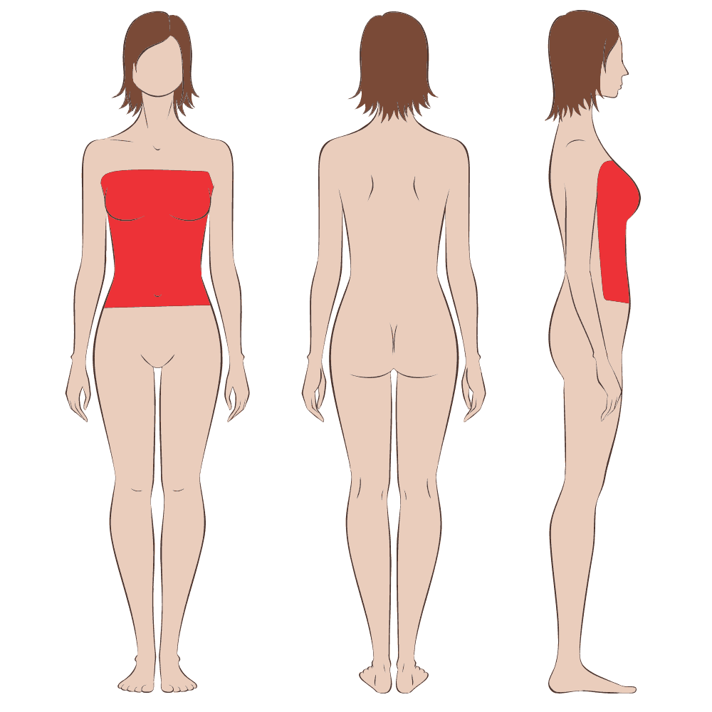 Female Chest And Abdomen Laser Hair Removal Indy Laser