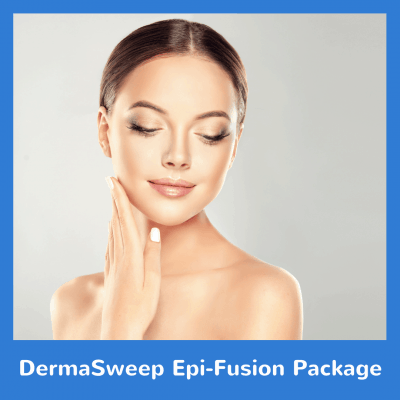 DermaSweep Epi Fusion Package