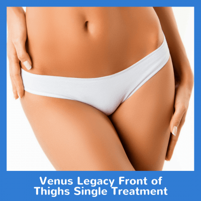 Venus Legacy Front of Thighs Single Treatment