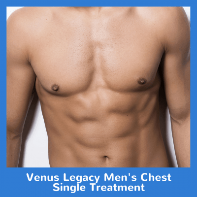 Venus Legacy Men's Chest Single Treatment