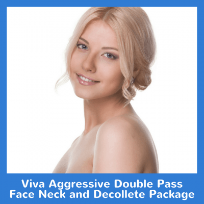 Viva Aggressive Double Pass Face Neck and Decollete Package