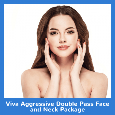 Viva Aggressive Double Pass Face and Neck Package
