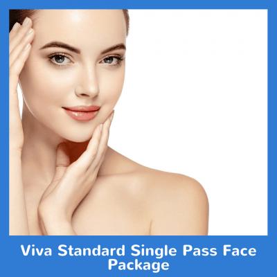 Viva Standard Single Pass Face Package