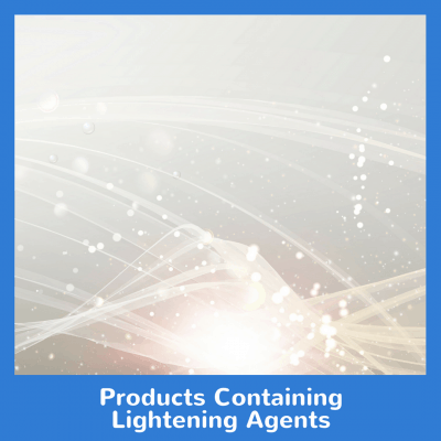 Products Containing Lightening Agents
