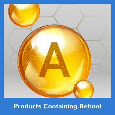 Products Containing Retinol