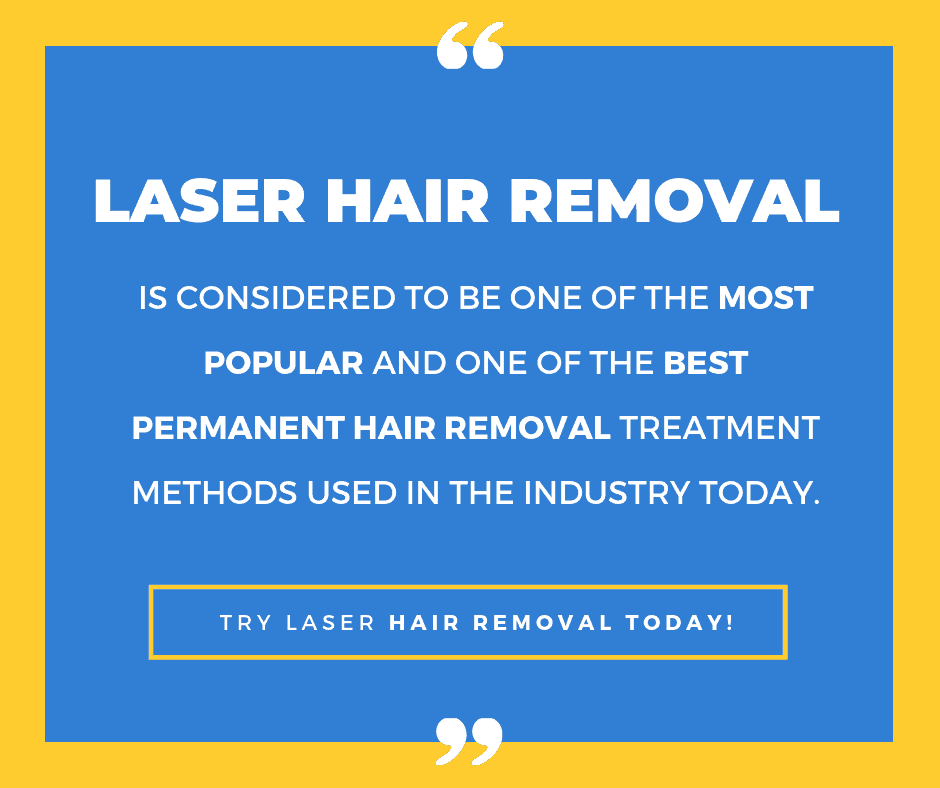 Laser hair removal most popular