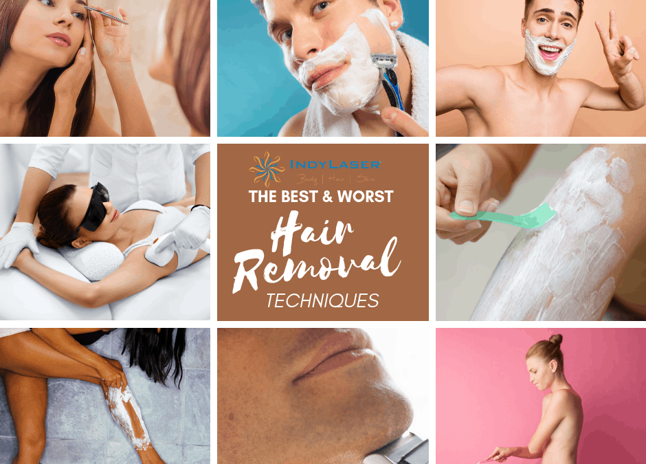 The Best & Worst Hair Removal Techniques