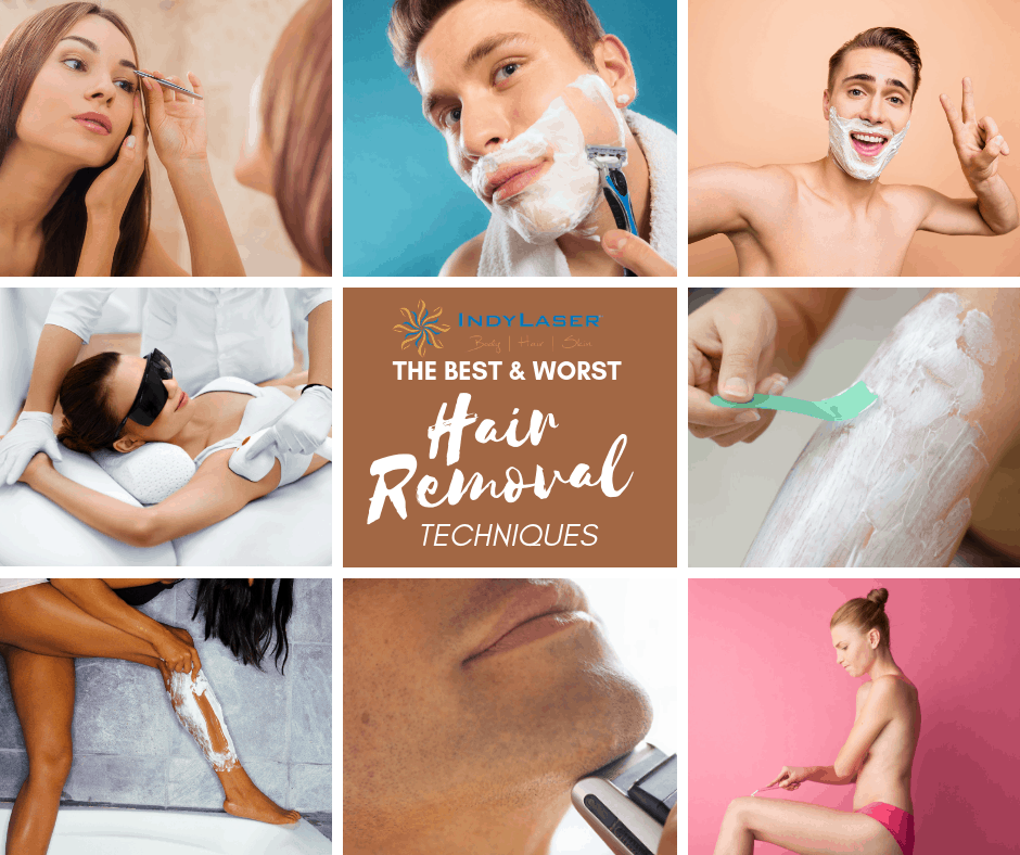The Best And Worst Hair Removal Techniques