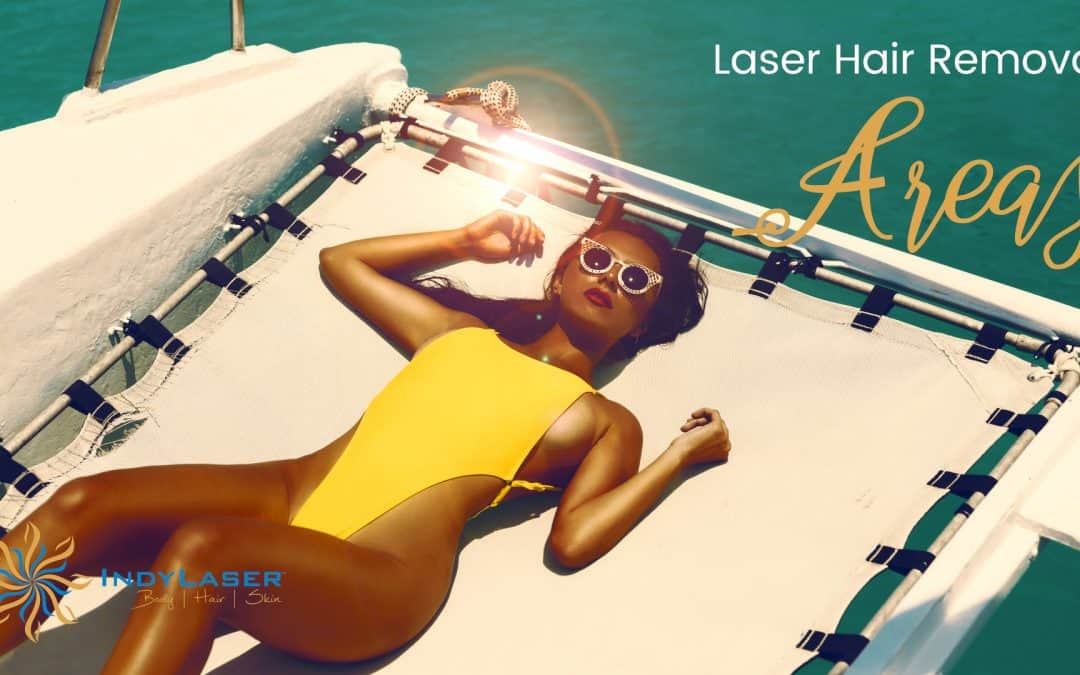 Laser Hair Removal Areas